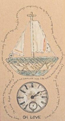 boat & clock