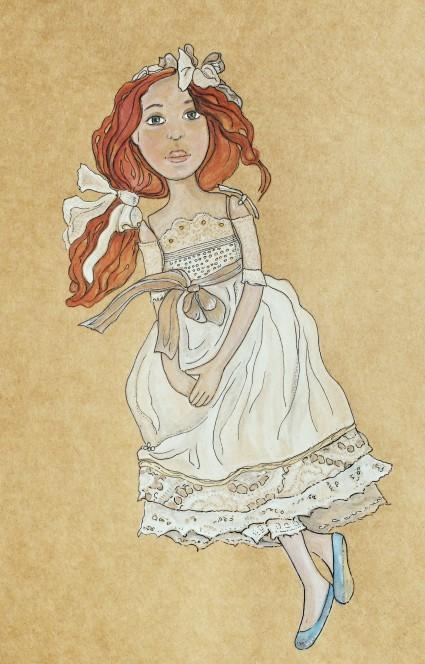sketch doll